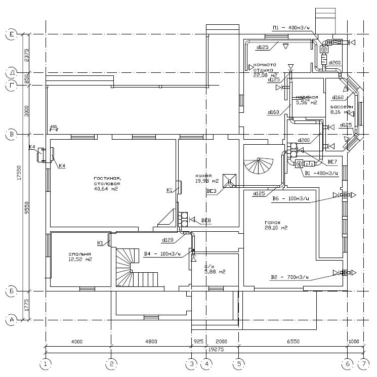 Планы-схемы работ по монтажу и