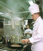 Вентиляция  на кухне в ресторане