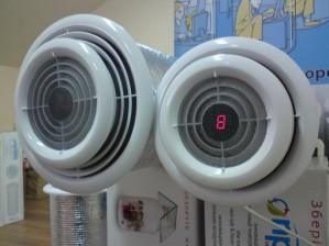 Приточная вентиляция с подогревом воздуха