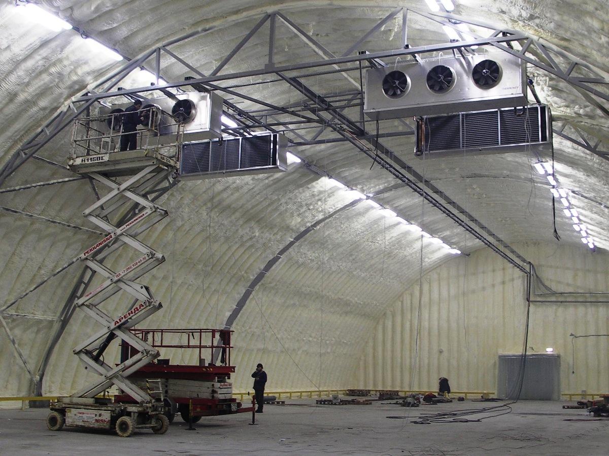 Проектирование систем вентиляции для ангара
